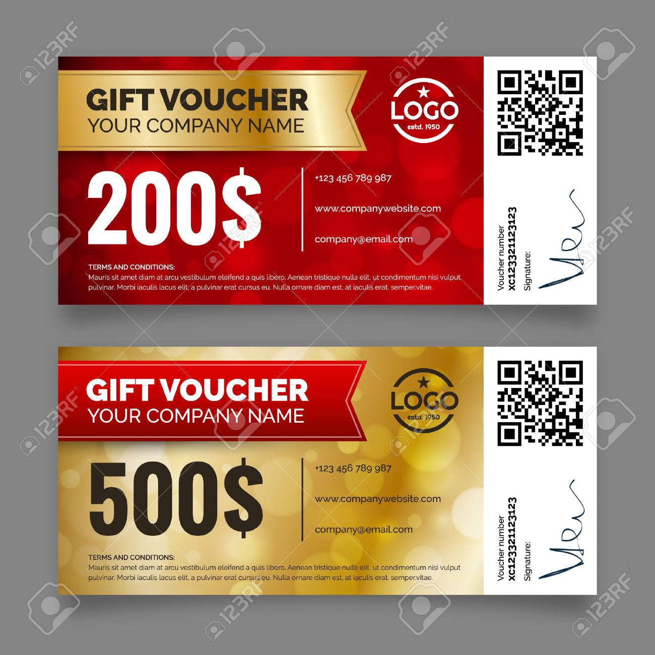 Gift voucher template premium certificate coupon royalty free clip gift voucher template premium certificate coupon stock fot 48173575 1betcityfo Images