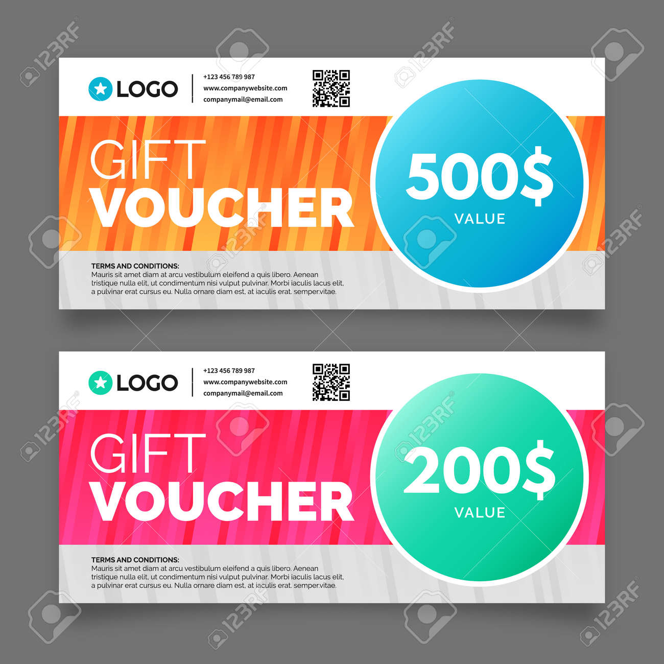 Gift voucher template premium certificate coupon graphic design gift voucher template premium certificate coupon graphic design stock vector 55350506 1betcityfo Images