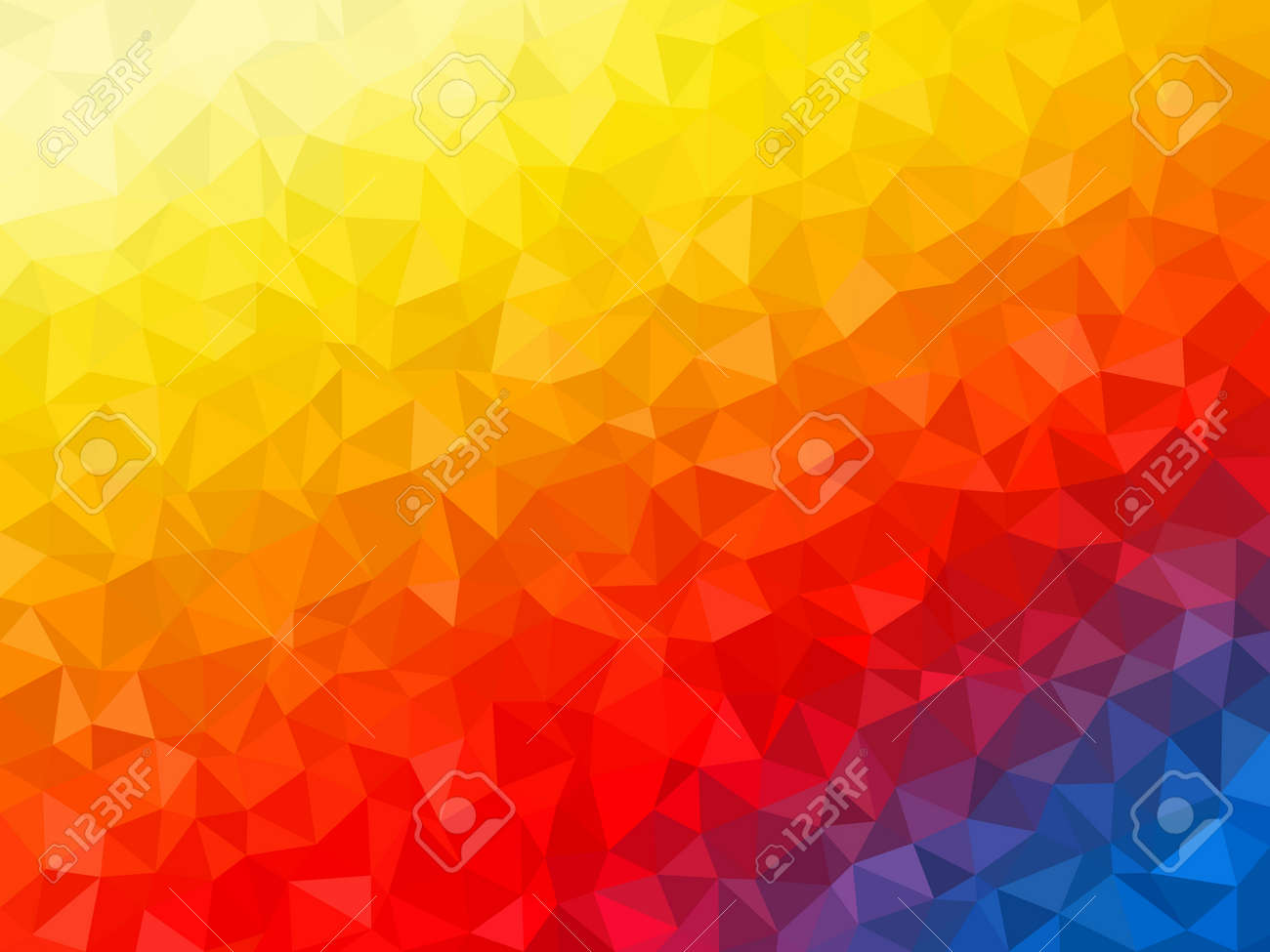 Abstract Background Colorful Geometrical Shapes Polygonal