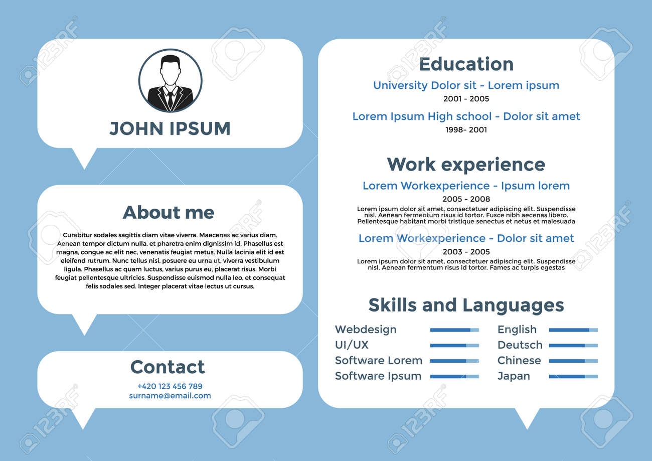 Amazing Resume Stock Pictures Simple Resume Office Templates