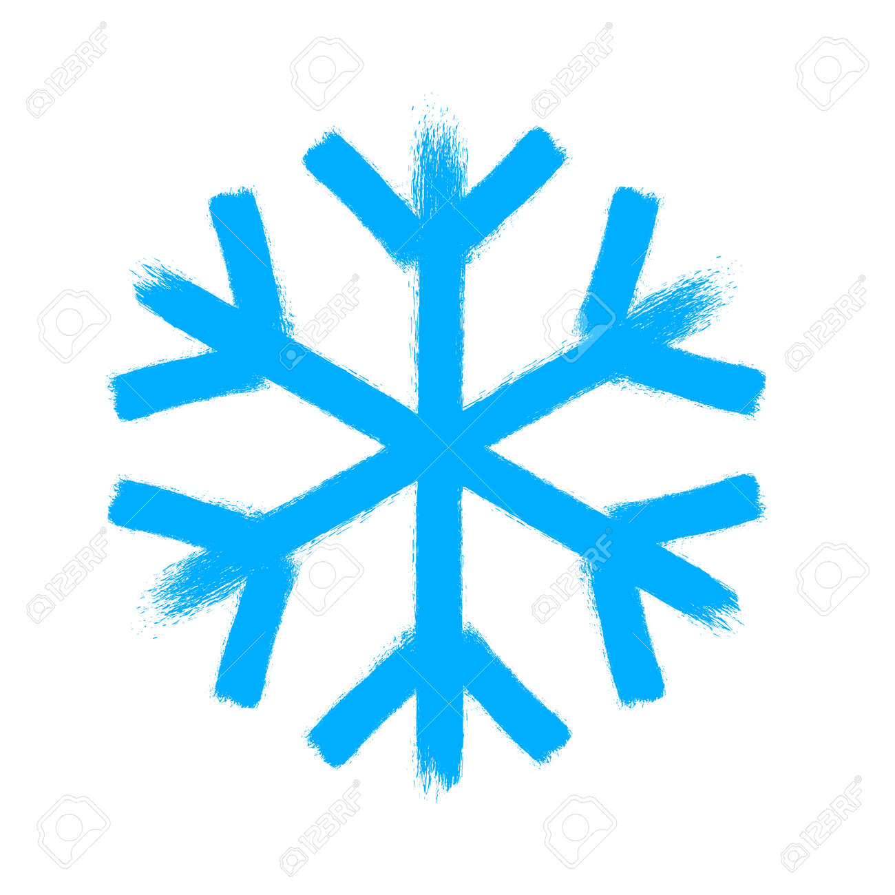 snowflake vector symbol christmas snow icon blue color royalty rh 123rf com snowflake vector free eps snowflake vector free download