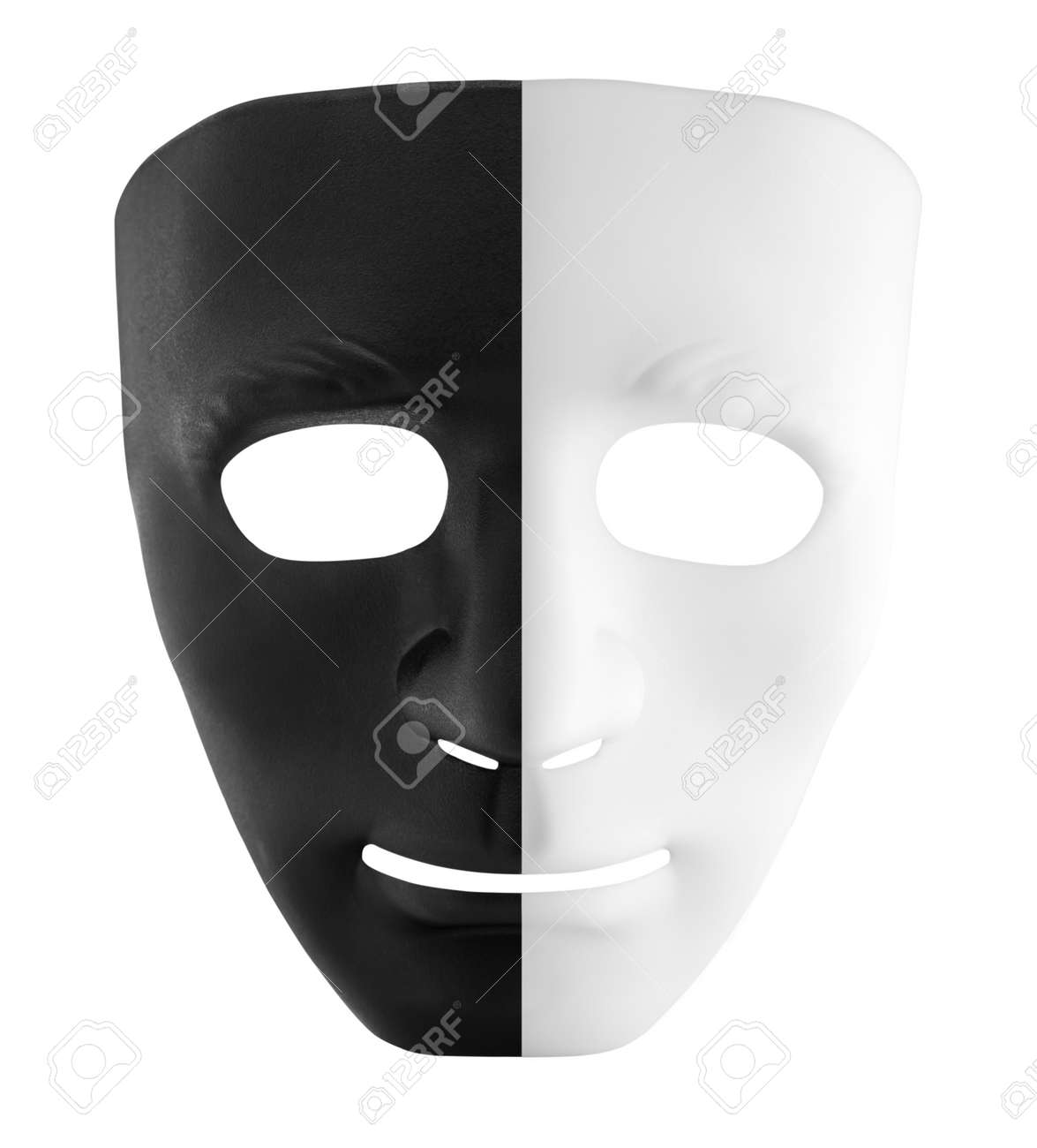 Black and White Mask