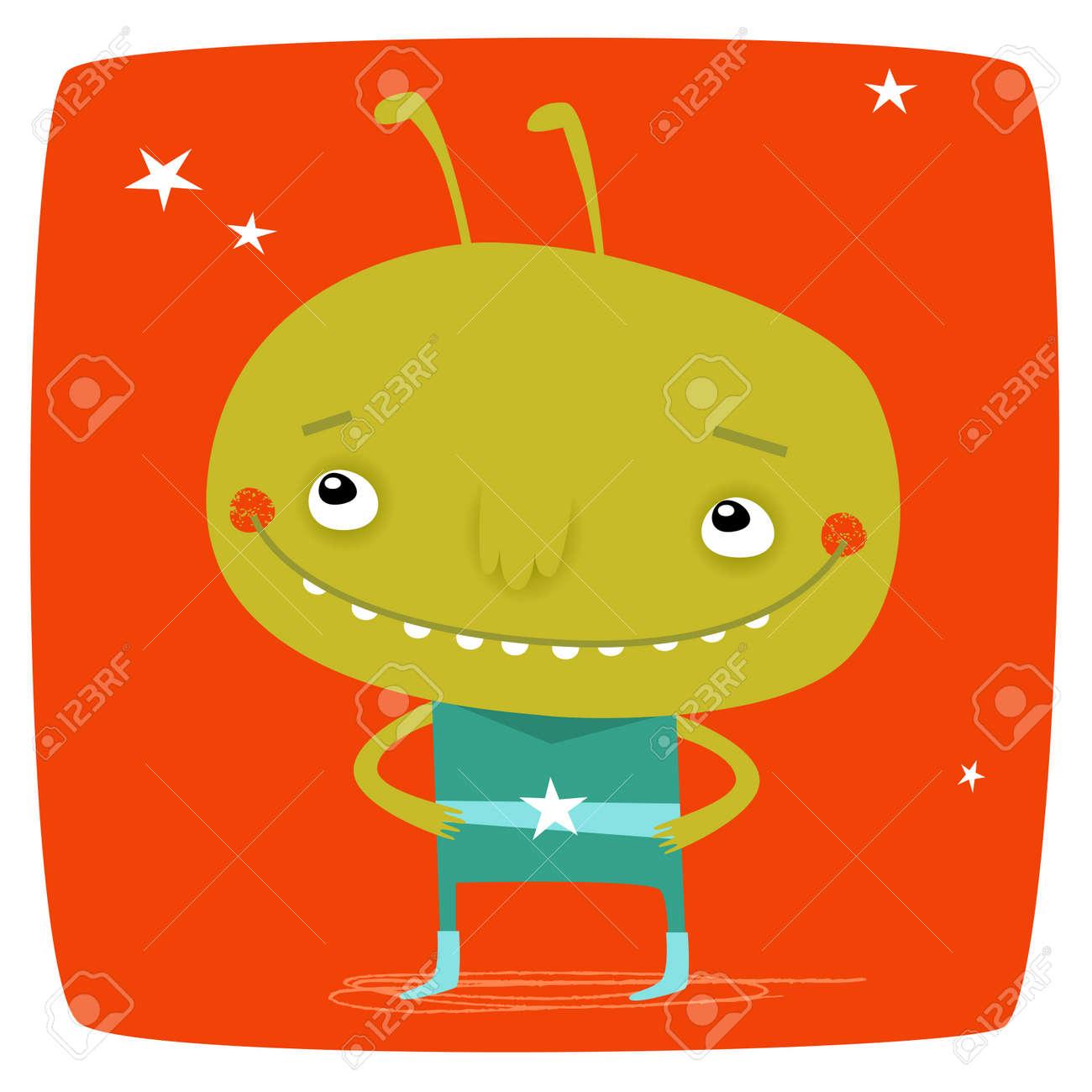Little Alien Stock Vector - 18996525