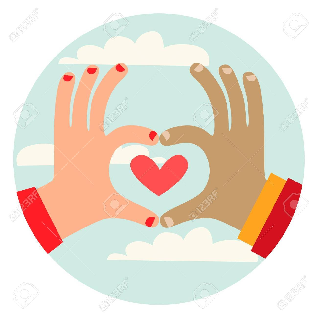 Love Gesture Stock Vector - 18996557