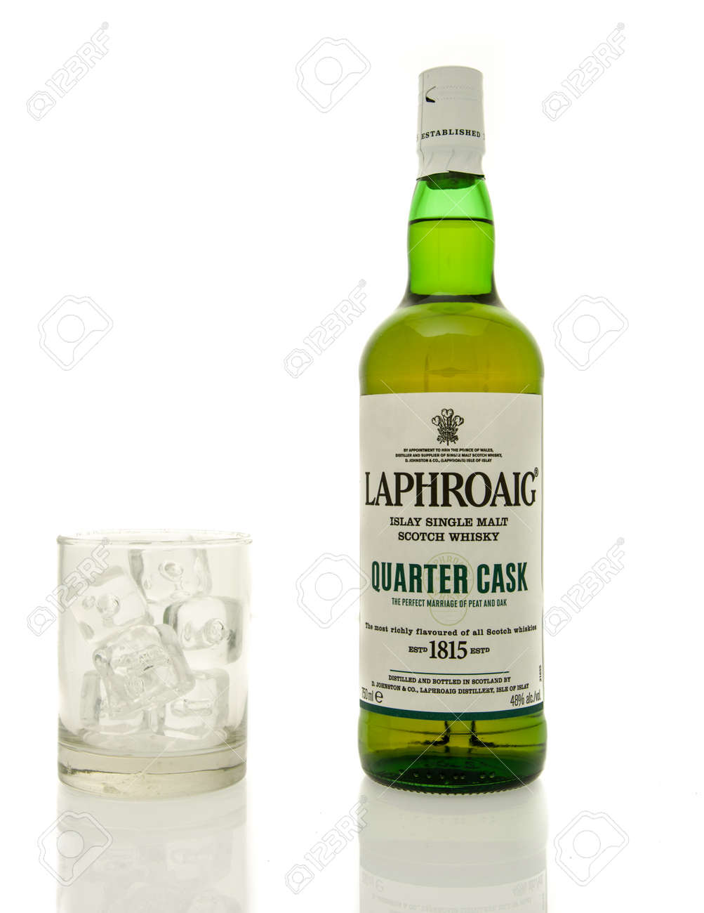 Winneconne Wi 19 März 2016 Eine Flasche Schottischer Whisky