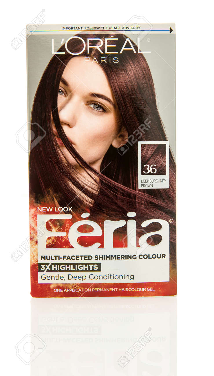 Winneconne Wi 29 October 2016 Loreal Feria Hair Color On Stock