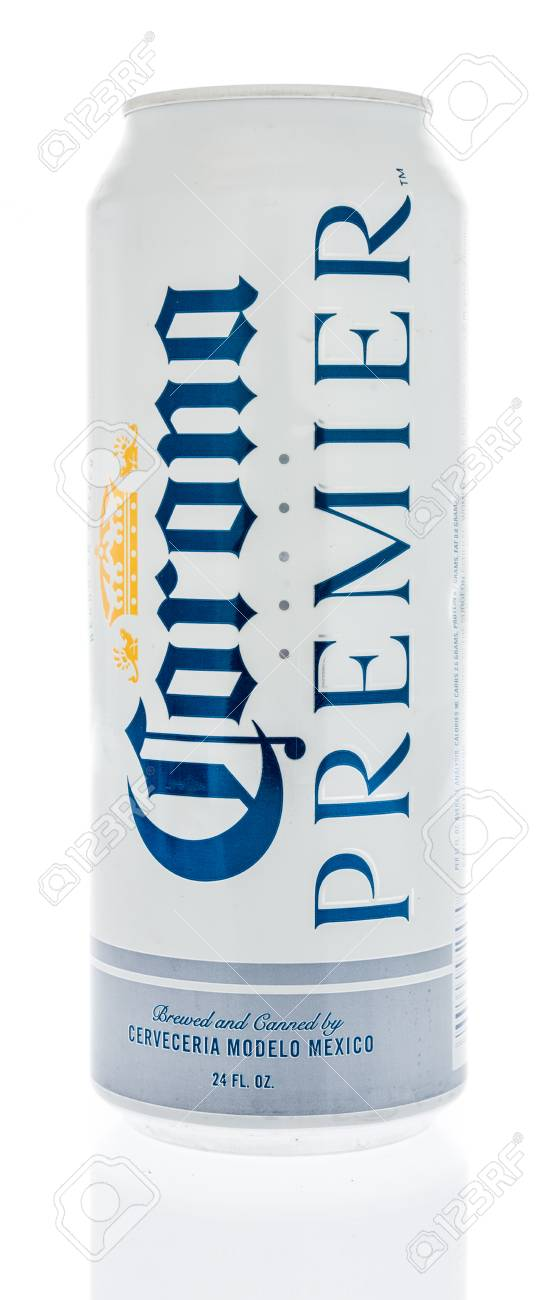 Winneconne 7 June 2018 A Can Of Corona Premier Beer On An Stock Photo Picture And Royalty Free Image Image 103416408