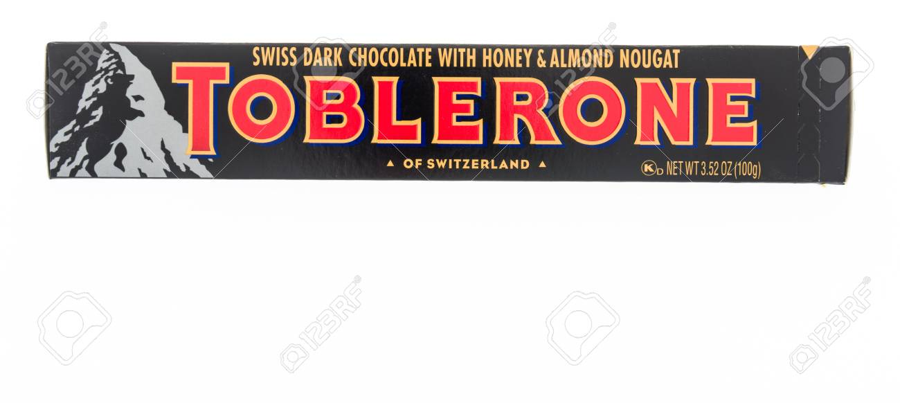 Winneconne Wi 8 February 2019 A Package Of Toblerone Swiss