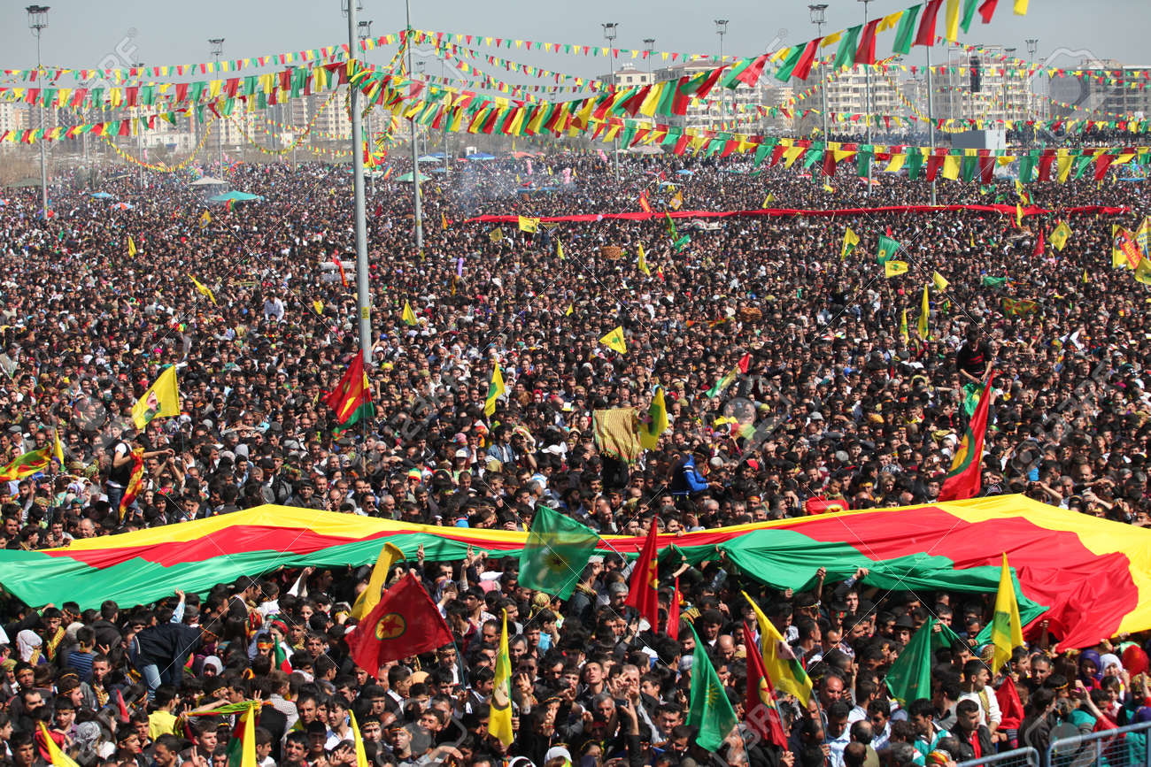 Image result for PHOTOS OF KURDS CELEBRATING