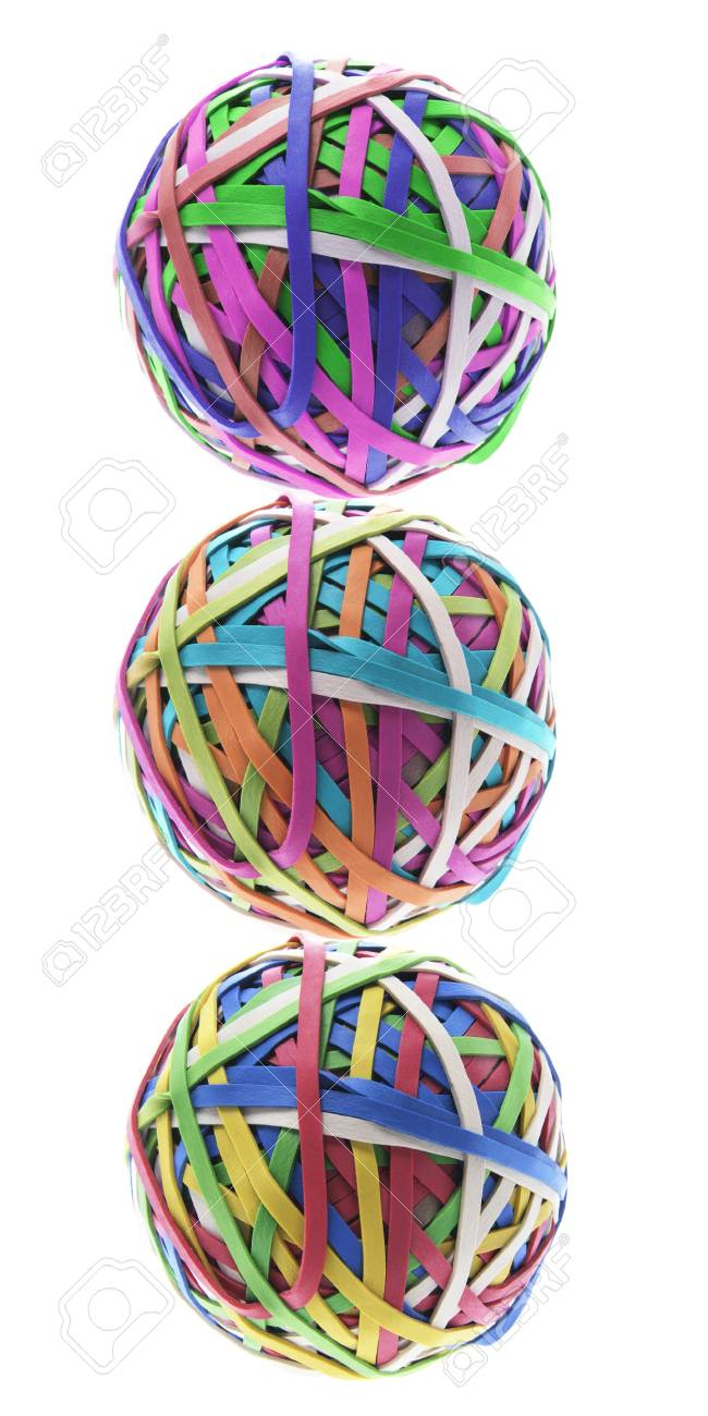 Rubber Band On Balls