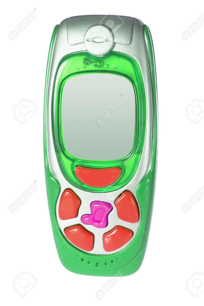 Immagini Stock Toy Cellulare Su Sfondo Bianco Image 10049969