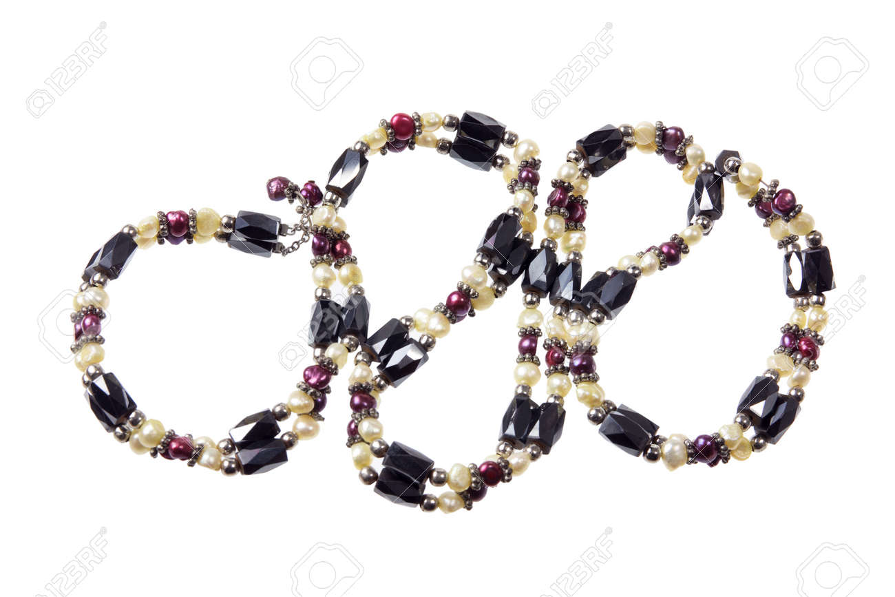 Bracelet in White Background Stock Photo - 12927507