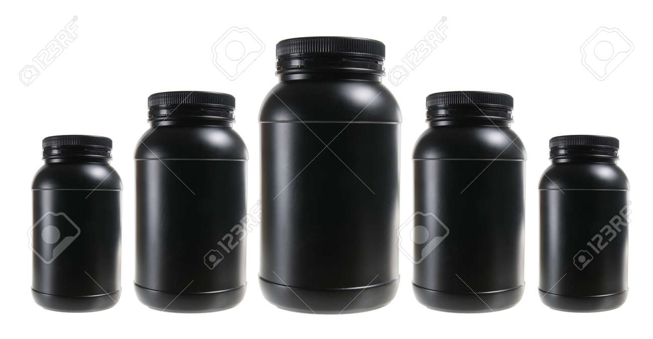 Plastic Bottles on White Background Stock Photo - 13562094