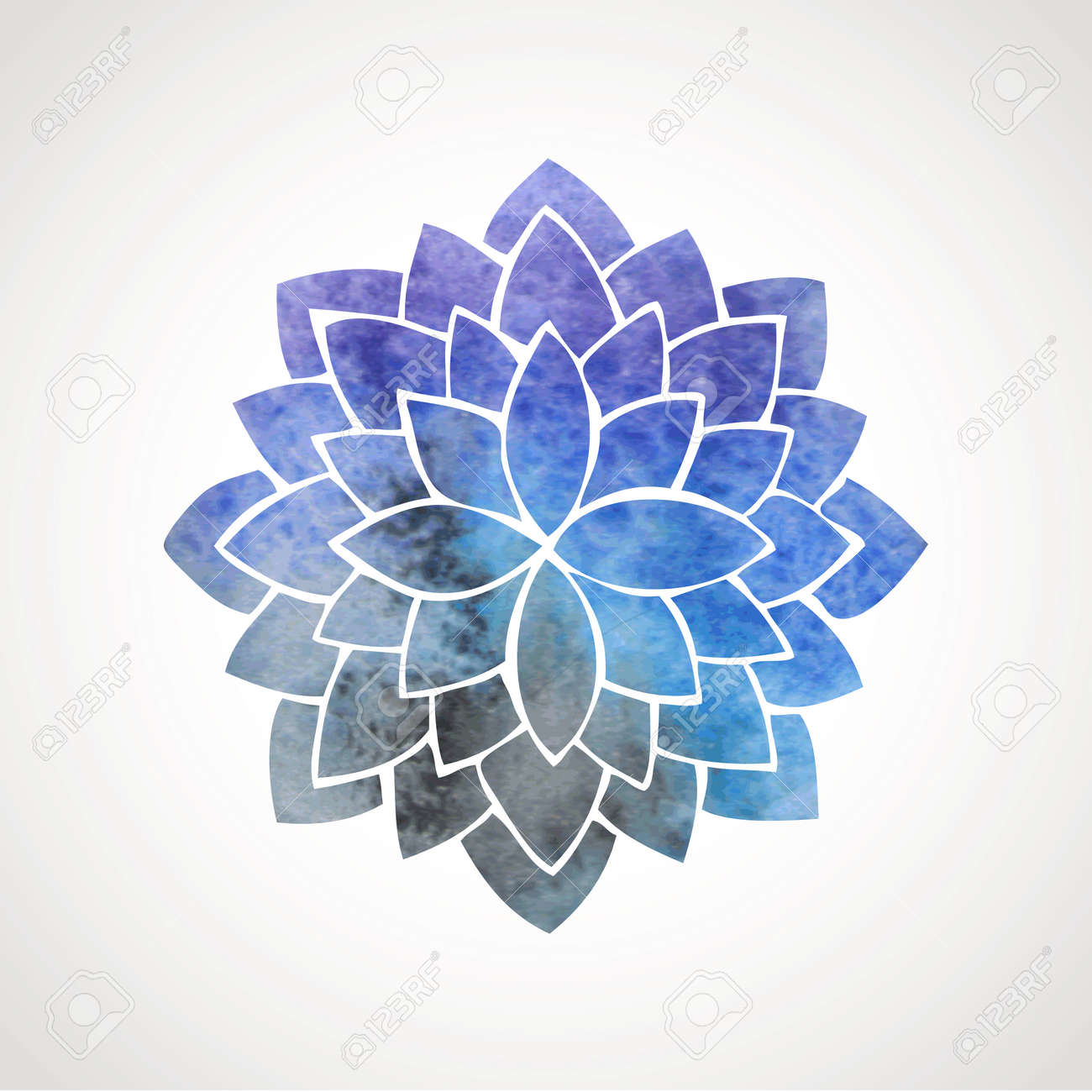 4819 Blue Lotus Cliparts Stock Vector And Royalty Free Blue Lotus