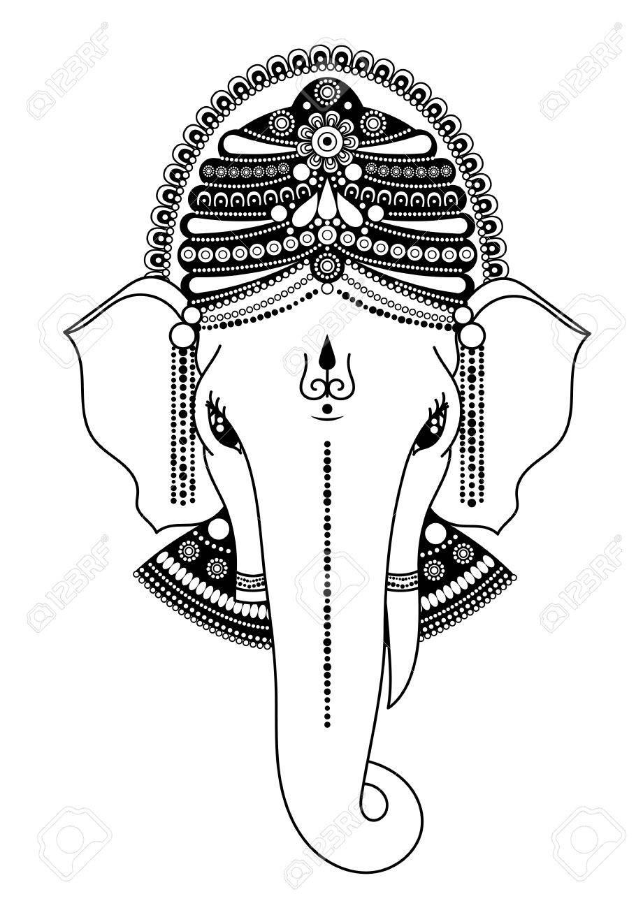 Ganesha O Ganapati, Deidad India En El Hindú, Removedor De ...