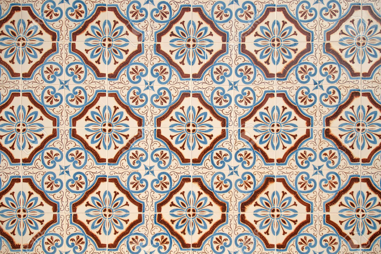 Colorful vintage spanish style ceramic tiles wall decoration colorful vintage spanish style ceramic tiles wall decoration stock photo 8774463 dailygadgetfo Images