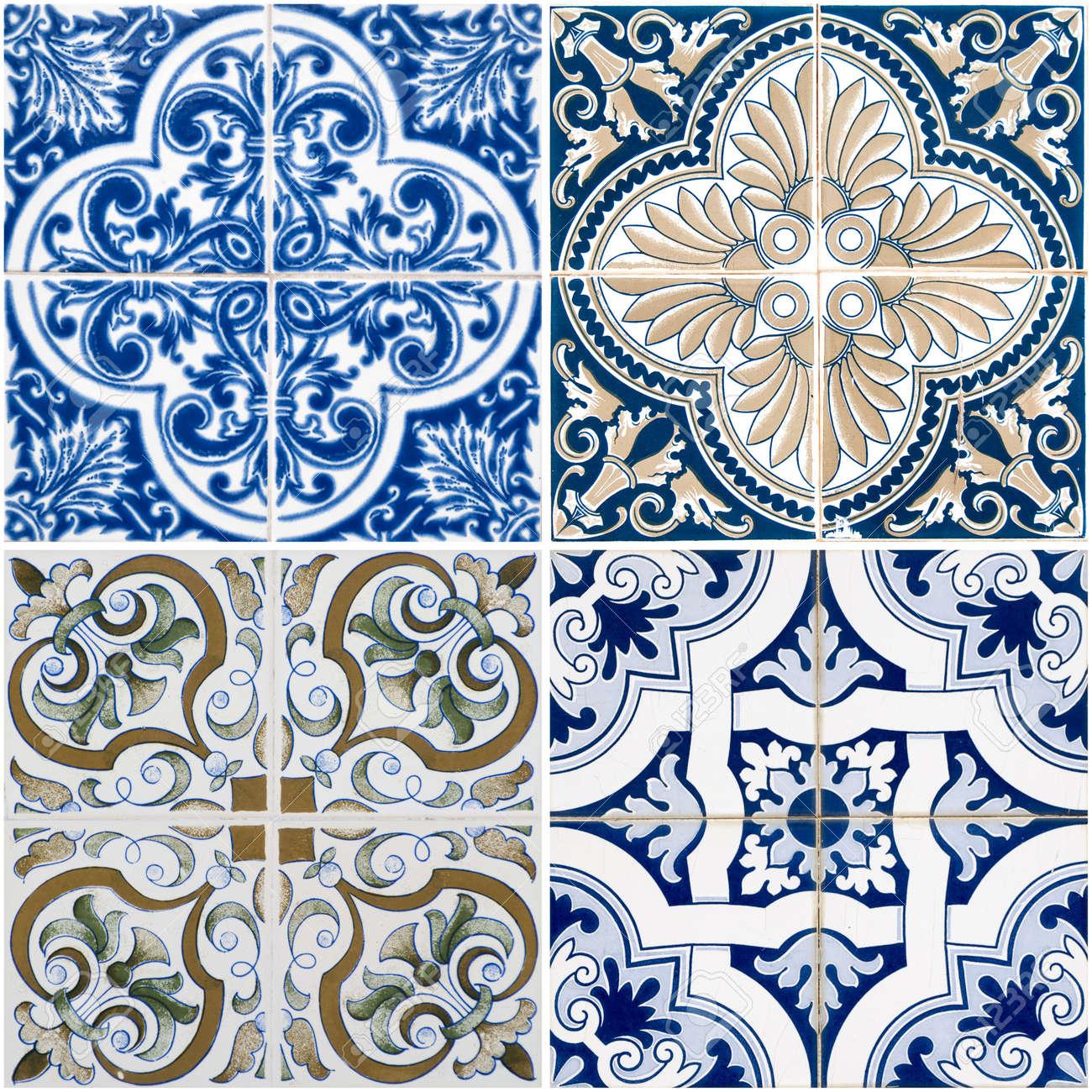 Colorful vintage ceramic tiles wall decoration Stock Photo   12725642. Colorful Vintage Ceramic Tiles Wall Decoration Stock Photo