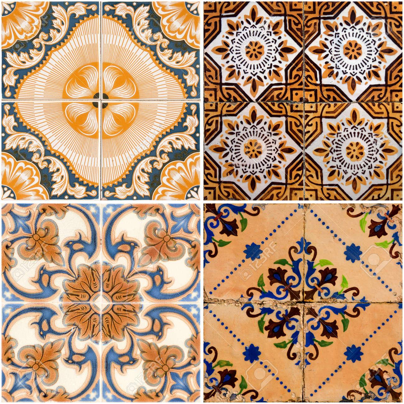 Colorful vintage ceramic tiles wall decoration  Stock Photo   12725804. Colorful Vintage Ceramic Tiles Wall Decoration  Stock Photo