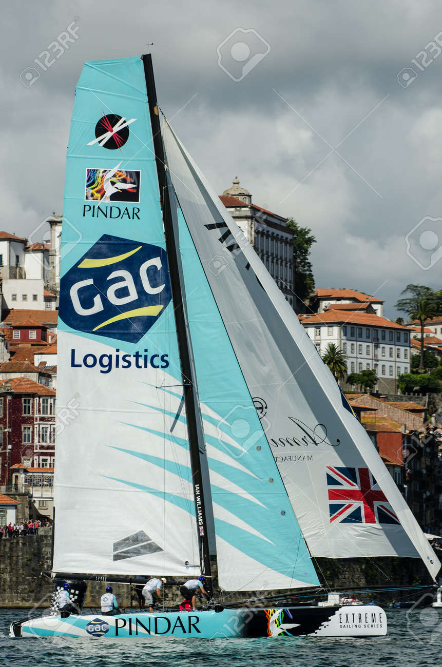 PORTO, PORTUGAL - JULY 07: GAC Pindar compete in the Extreme