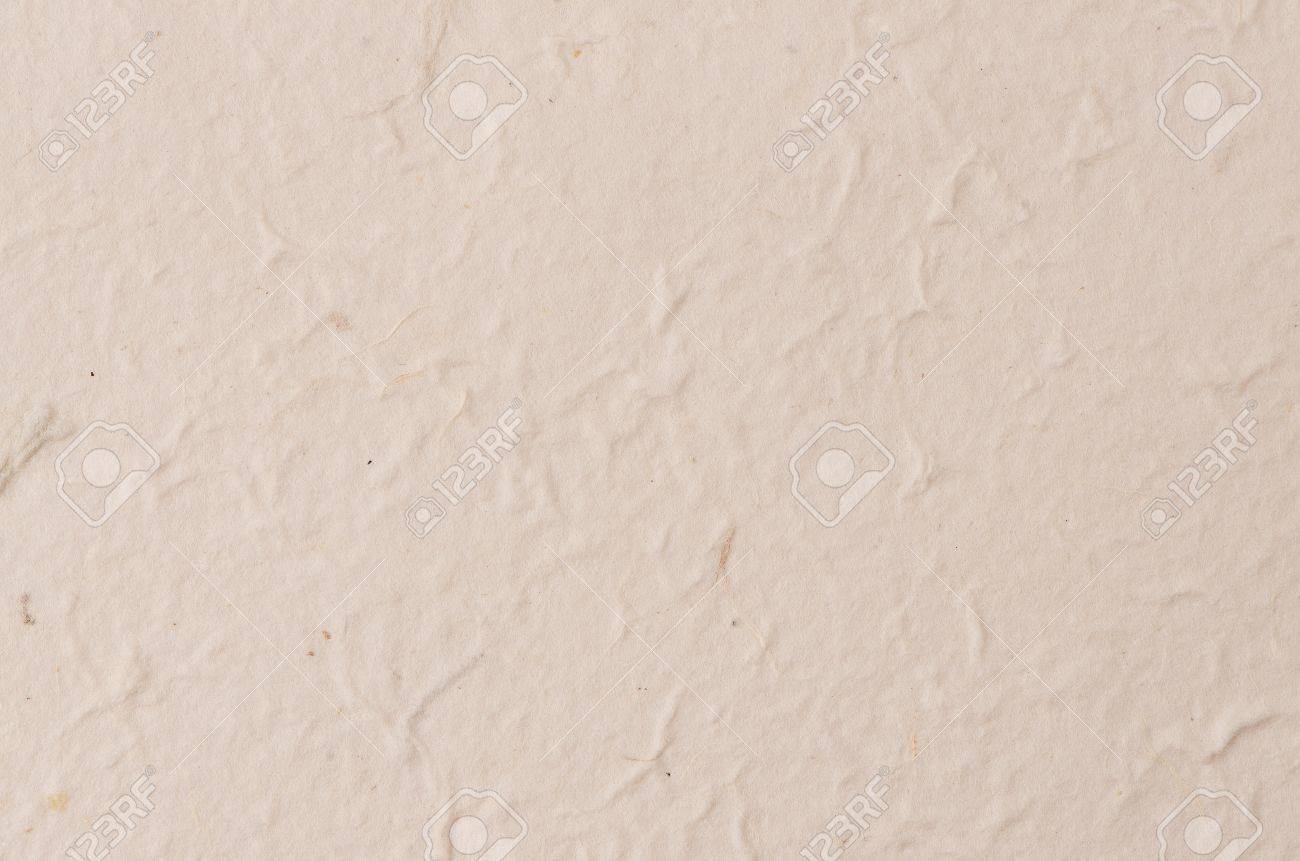 Cream Textured Paper Closeup Can Be Used As A Background Stock Photo