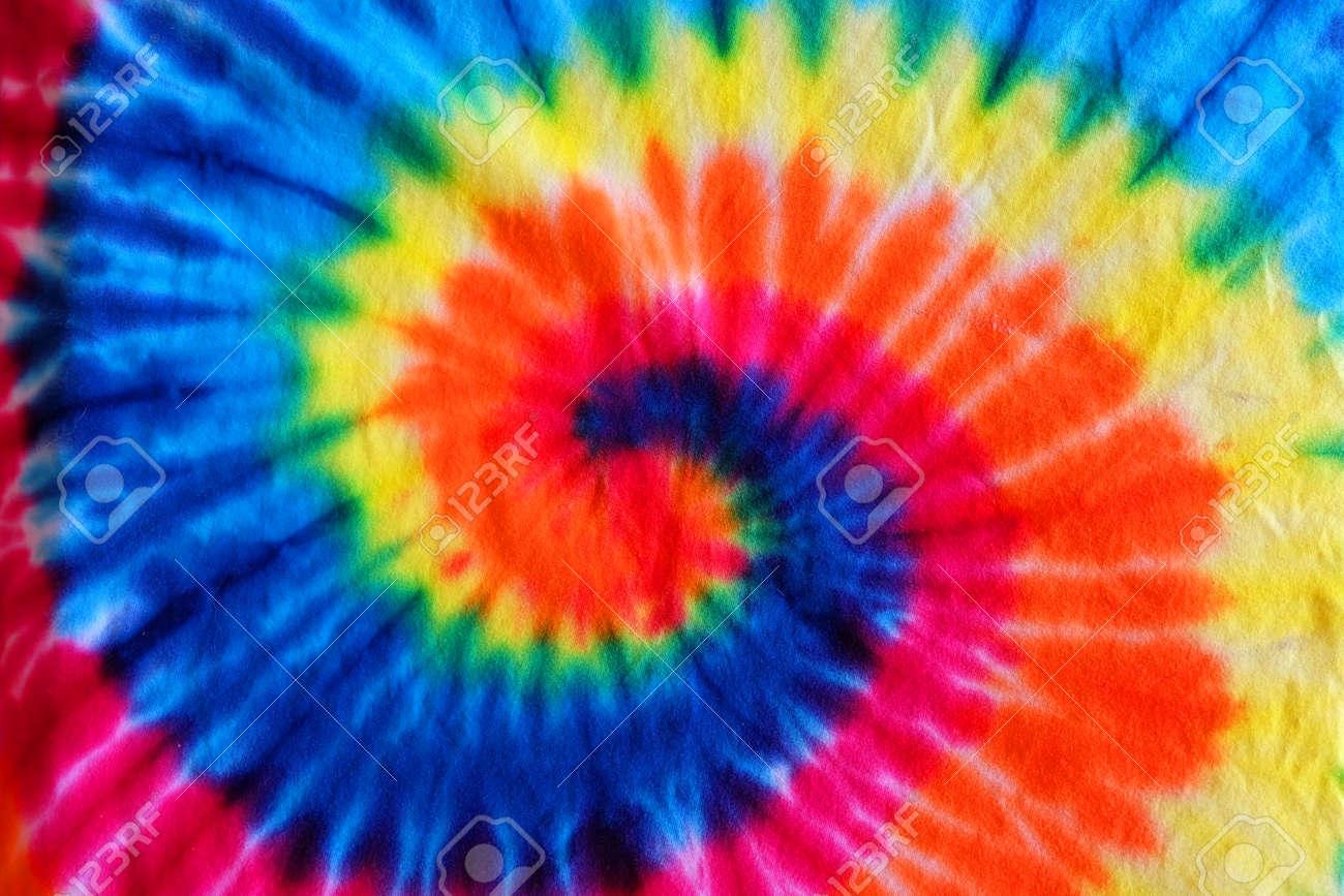 8cd860839e1a close up tie dye fabric pattern background Stock Photo - 99503551