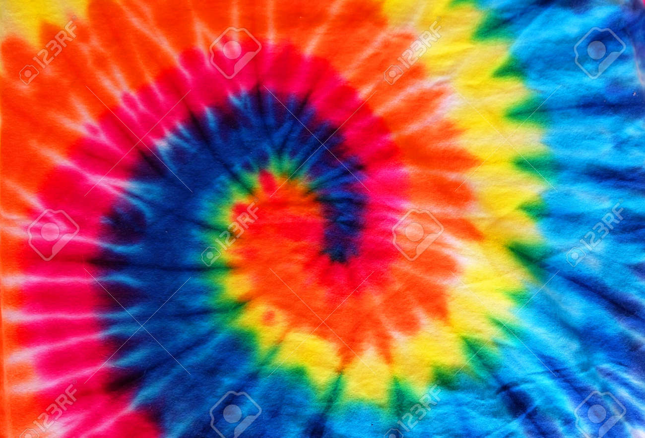 10ab025cc568 close up tie dye fabric pattern background Stock Photo - 99467569