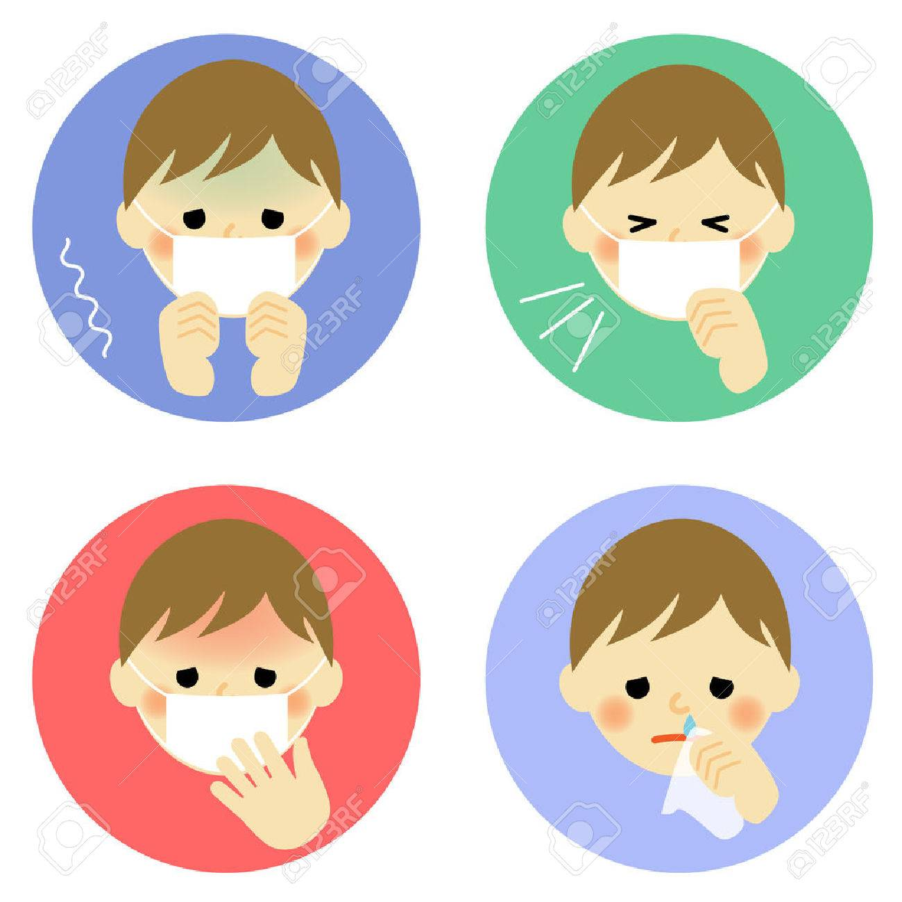 Cold symptoms of child - 34873906