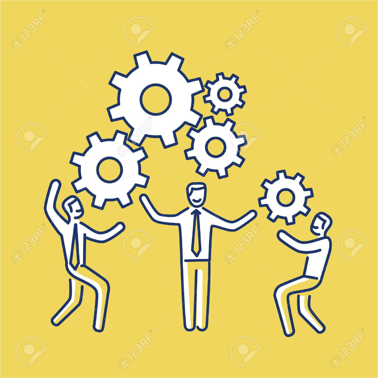 skill stock photos images royalty skill images and pictures skill vector teamwork skills icon of businessmans gears bulding engine together modern flat