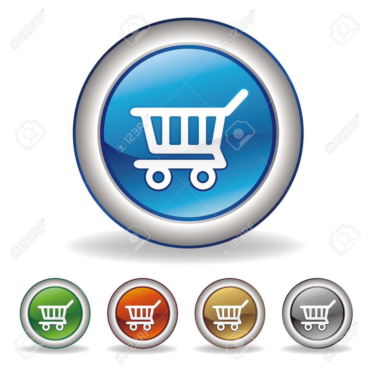 vector e-commerce icon Stock Vector - 7511951