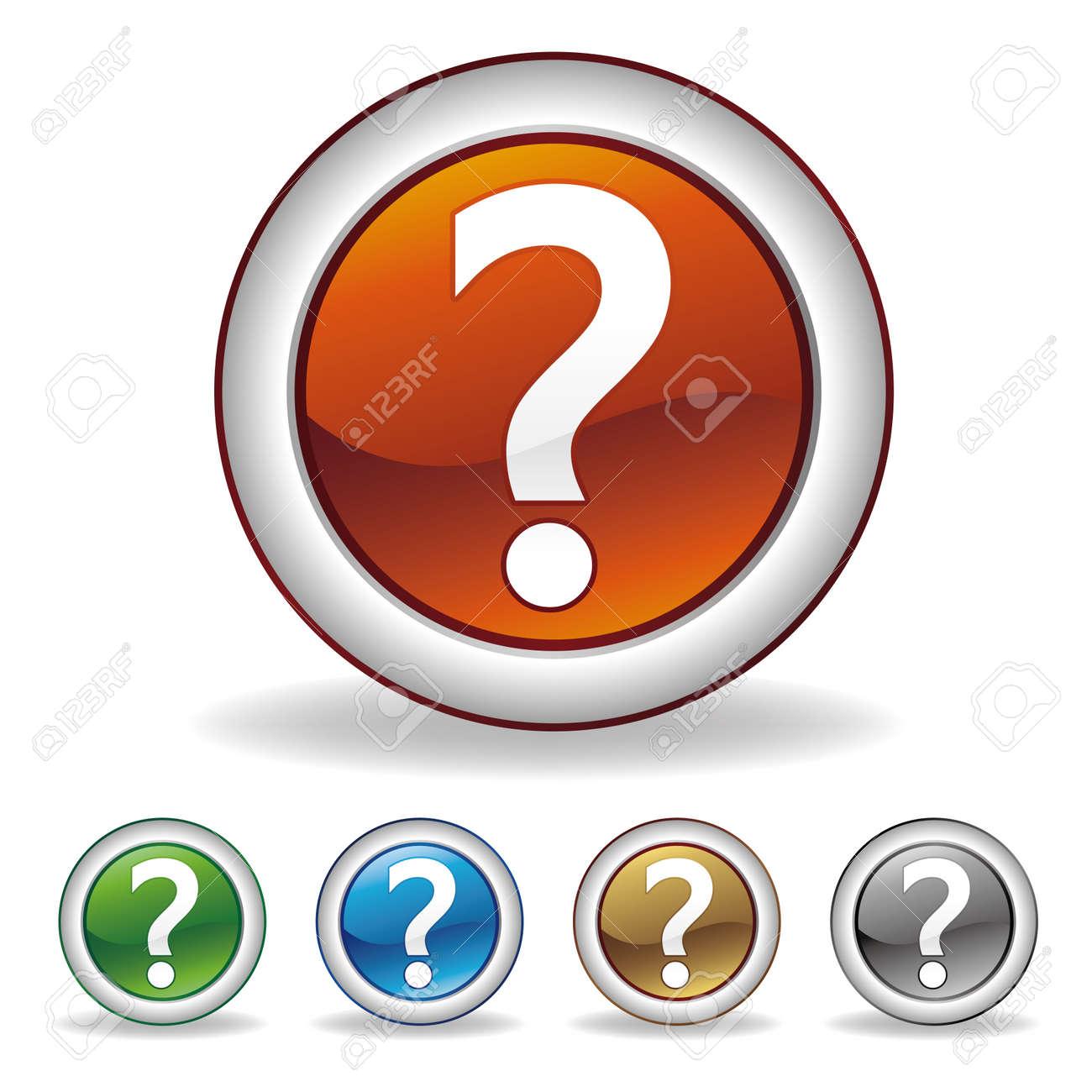 question icon Stock Vector - 7528638