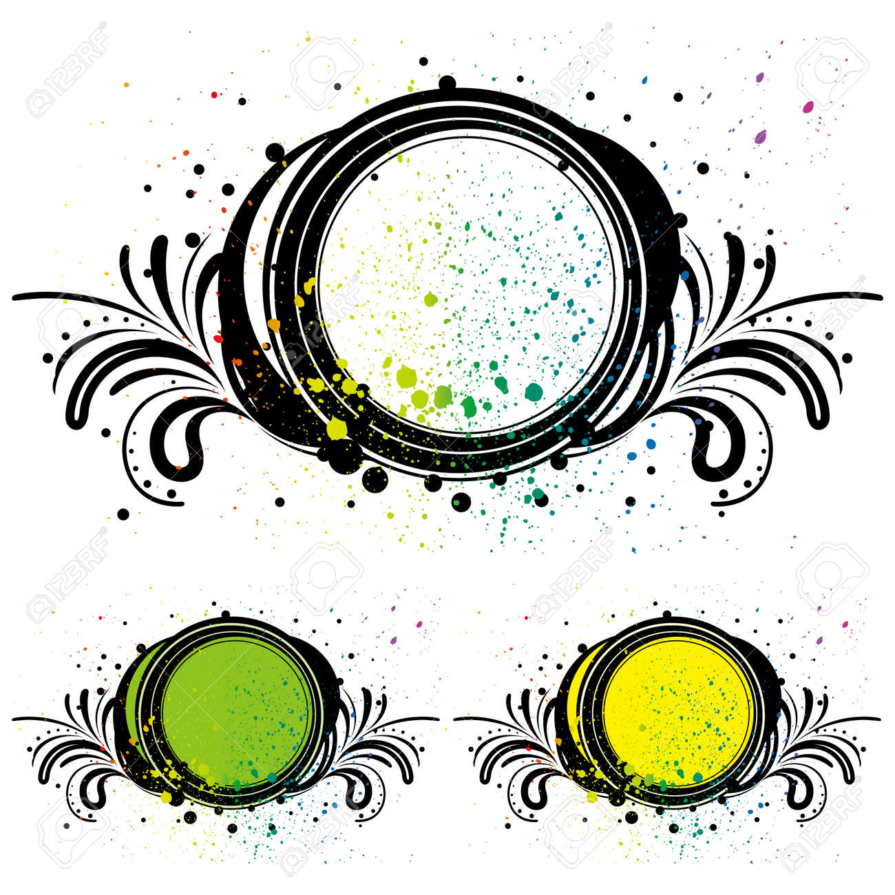 abstract design element Stock Vector - 7558135