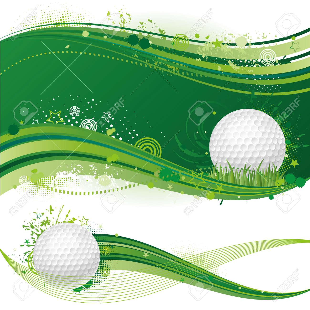 golf sport design element Stock Vector - 7558150