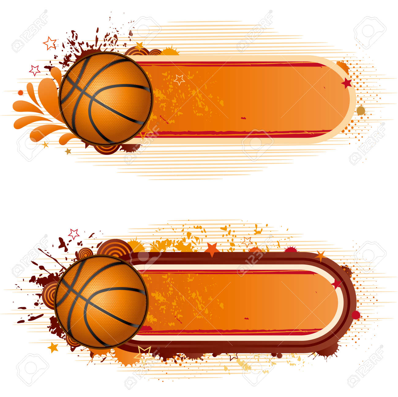 Design Elements-basketball Royalty Free Cliparts, Vectors, And Stock ...