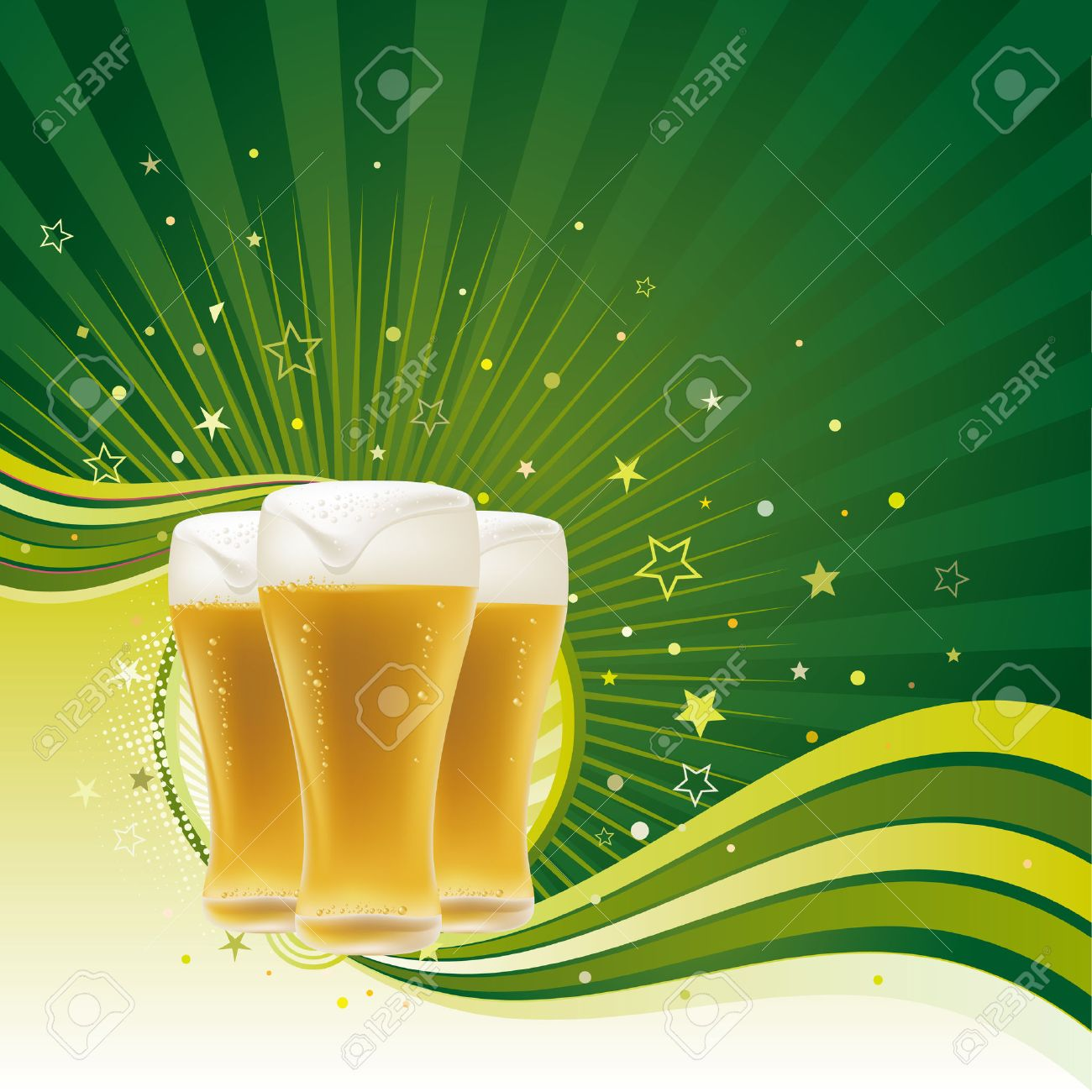 beer design element,abstract backgrounds Stock Vector - 7580330