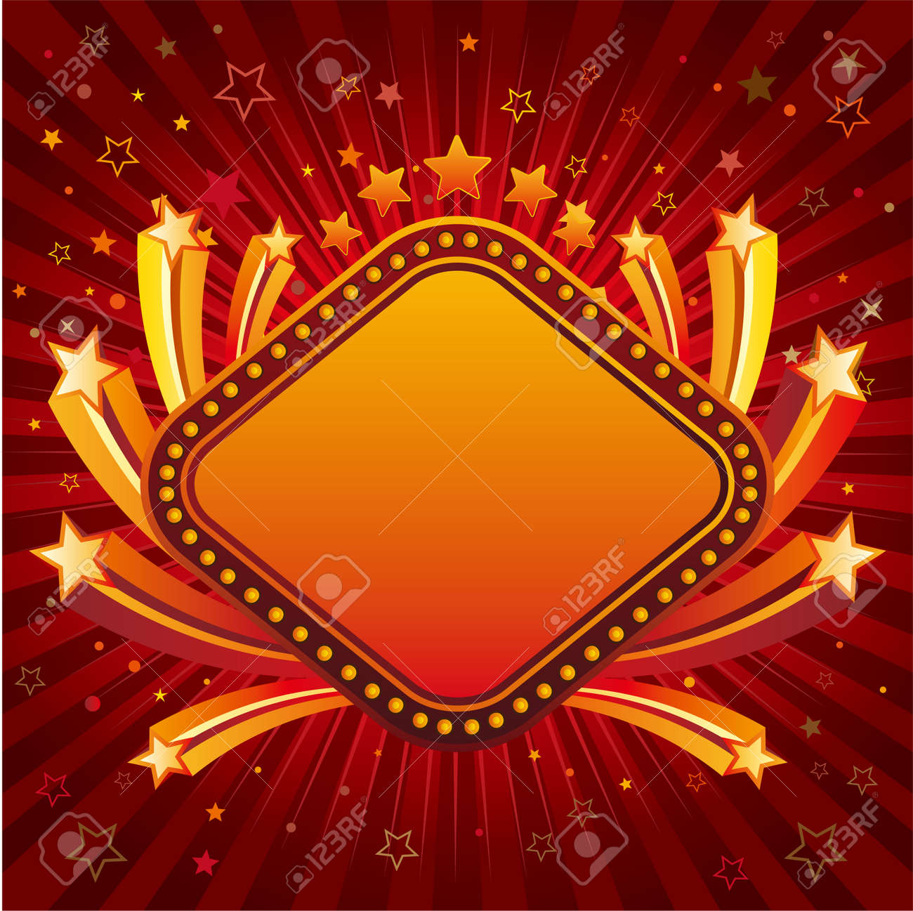 stars,abstract design element Stock Vector - 7696822