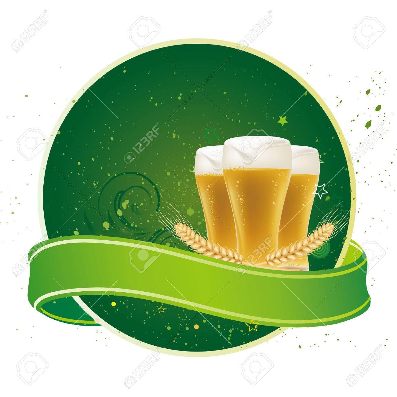 design element for beer Stock Vector - 7827168