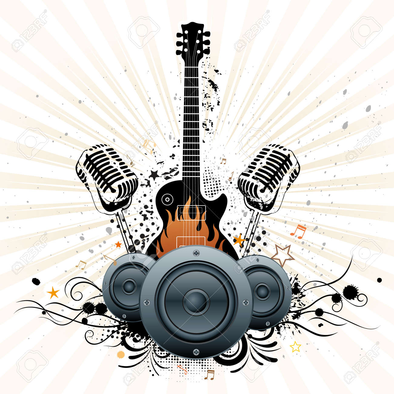 Classic Rock Facebook layouts amp backgrounds created by