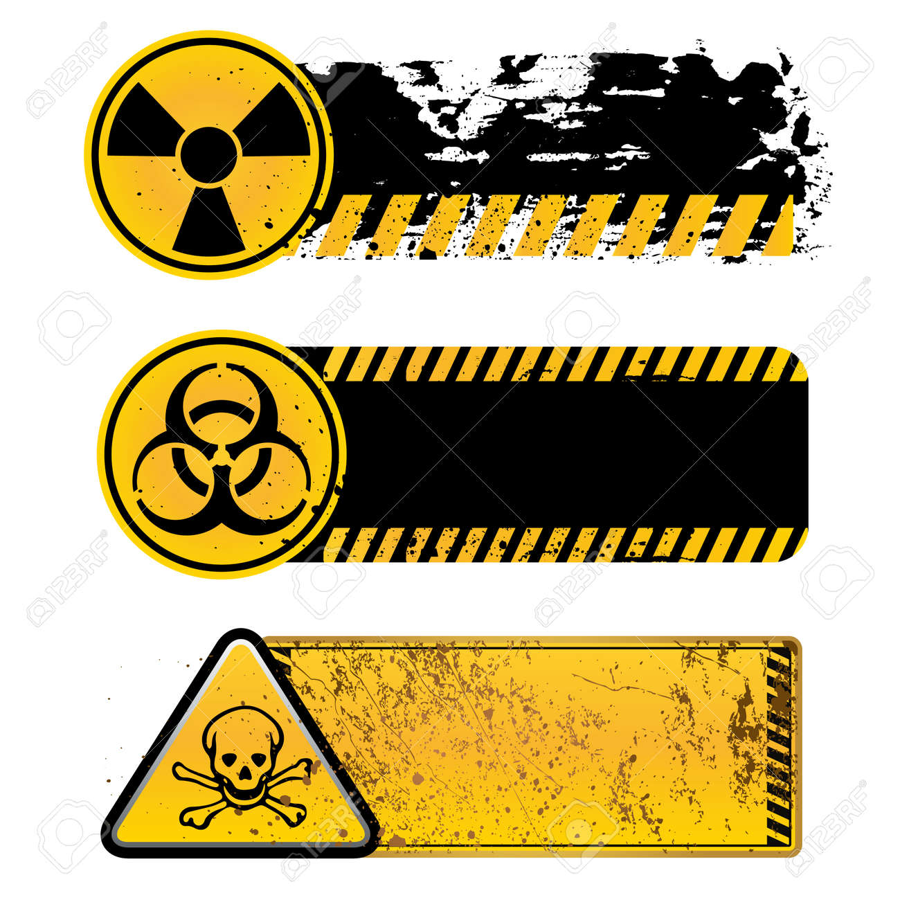 Danger warning nuclearbiohazardtoxic substance royalty free danger warning nuclearbiohazardtoxic substance stock vector 9034222 biocorpaavc Images