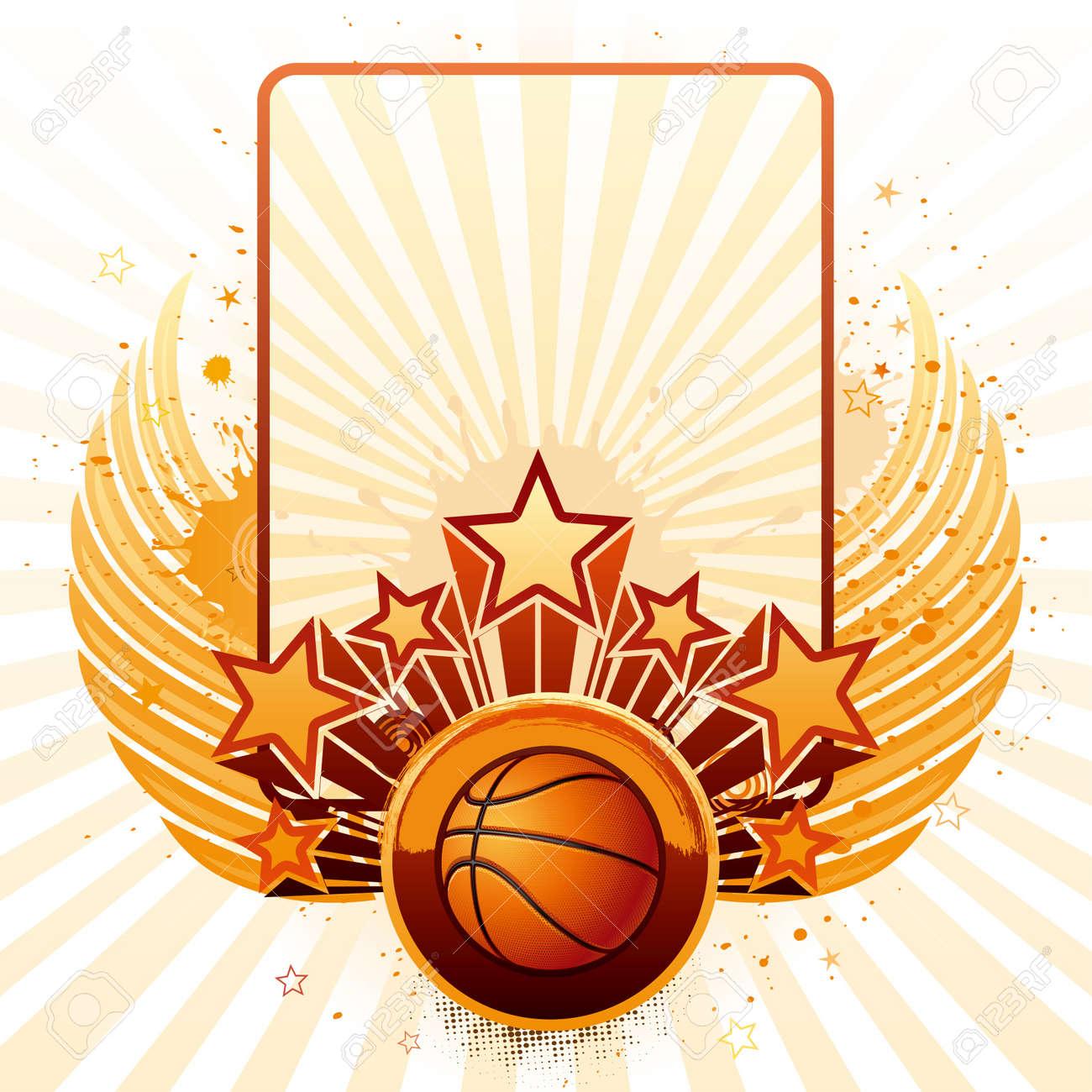 vector background of basketball sport Stock Vector - 9776418