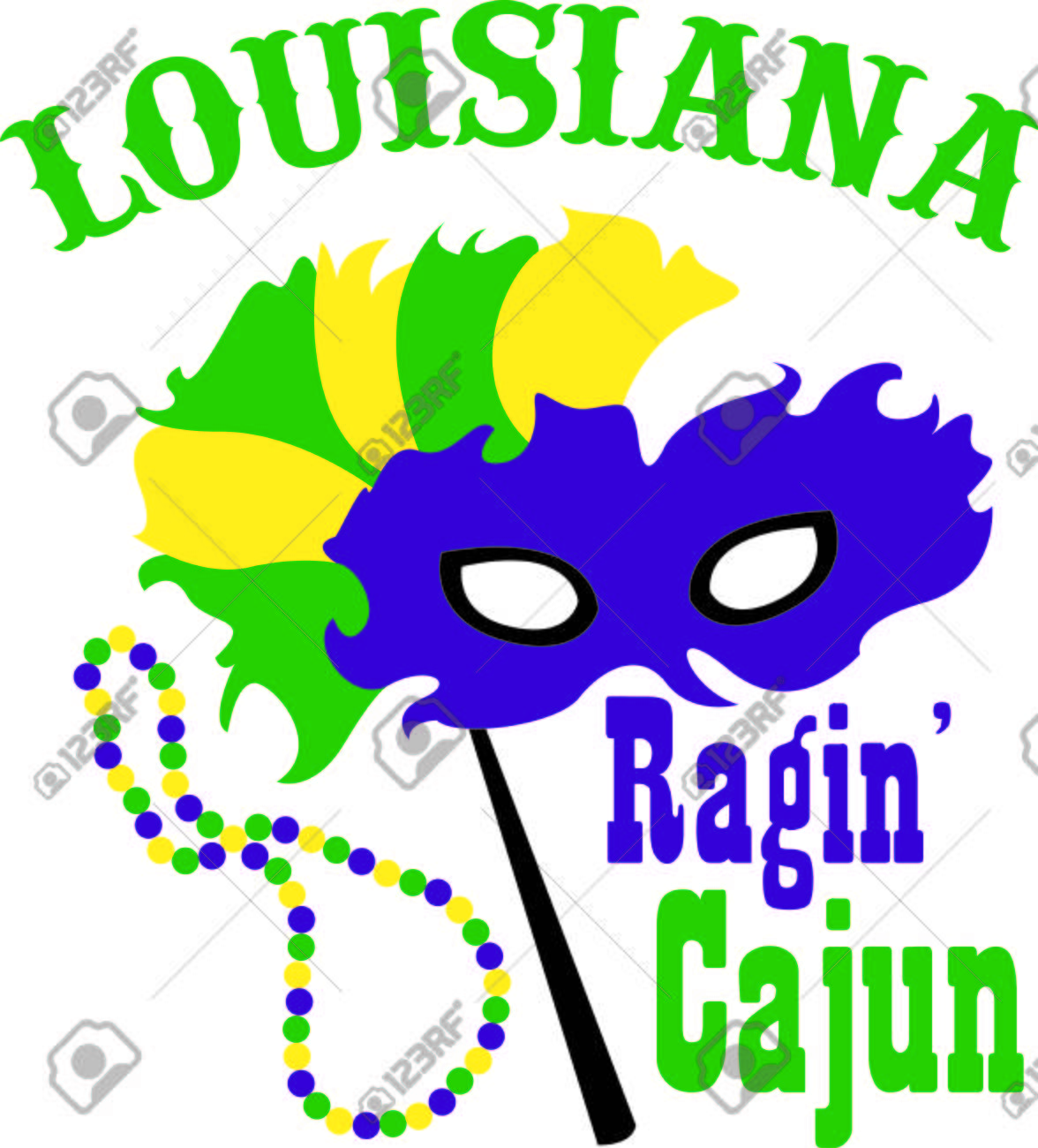 Use this masquerade mask for your Mardi Gras design. - 43681380