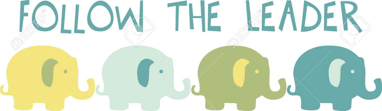 Eine Susse Baby Elefanten Sind Eine Perfekte Erganzung Zu