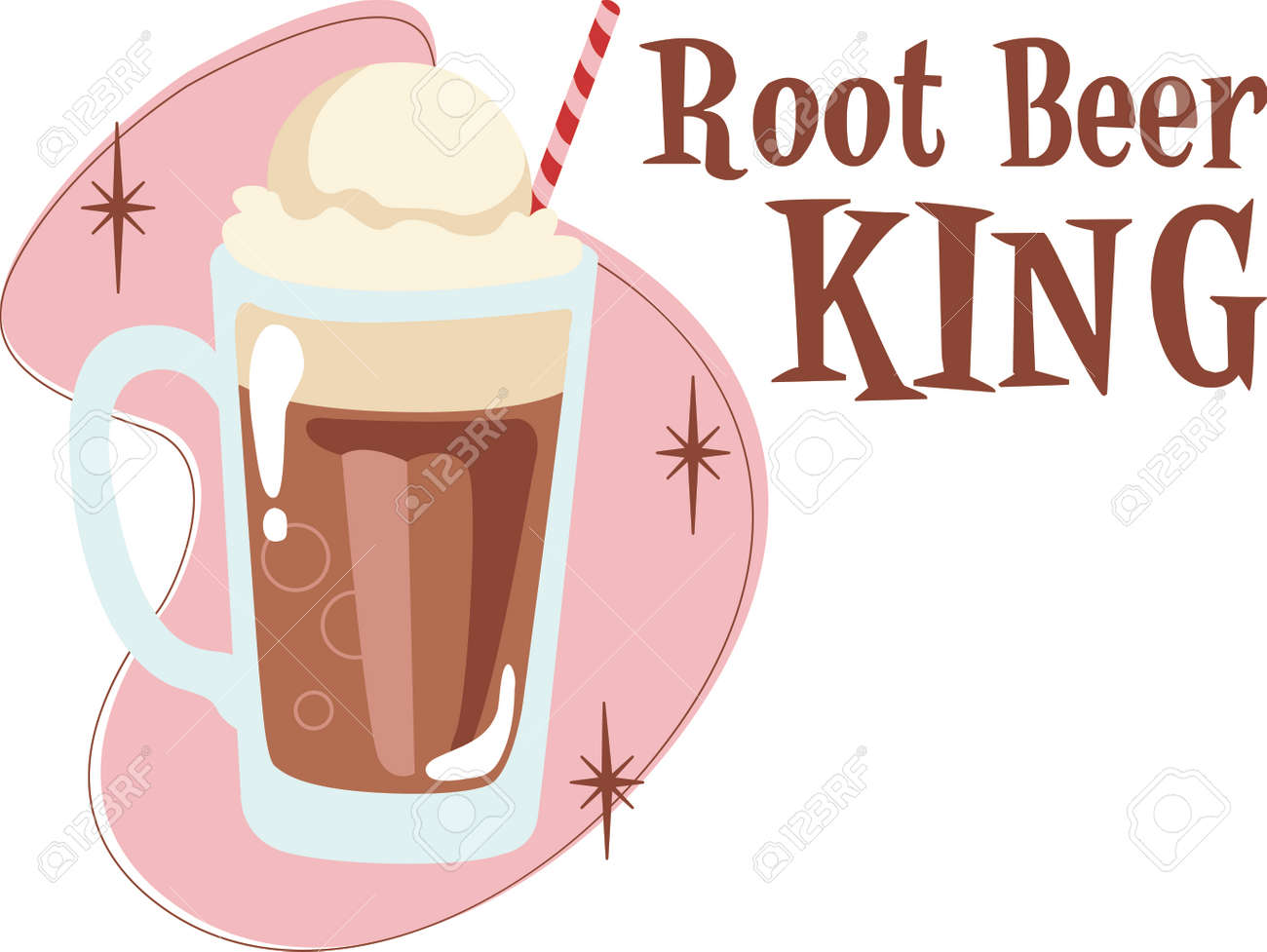 time to throwback to the classic root beer float a perfect rh 123rf com Root Beer Float Graphic root beer float clip art free
