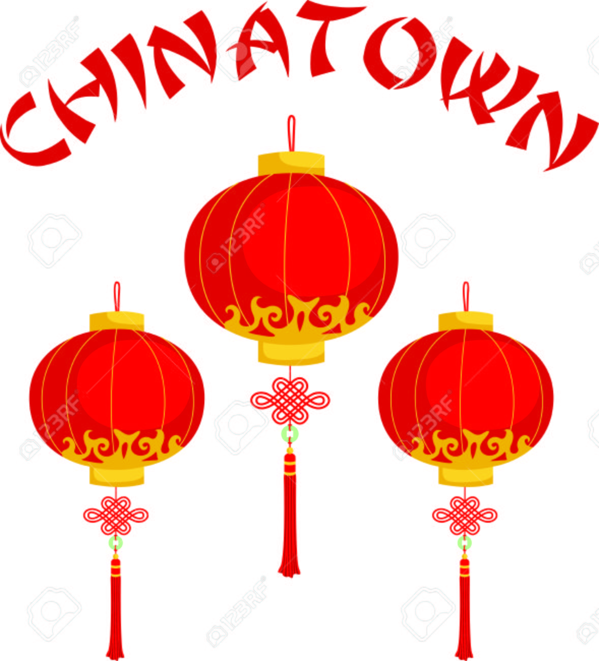this chinese lantern is perfect for your next design royalty free