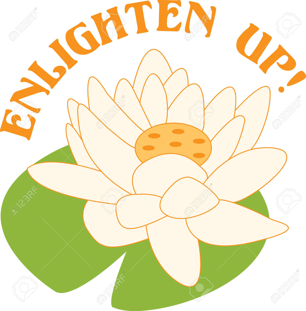 The Lotus Is A Sacred Buddhist Symbol Royalty Free Cliparts
