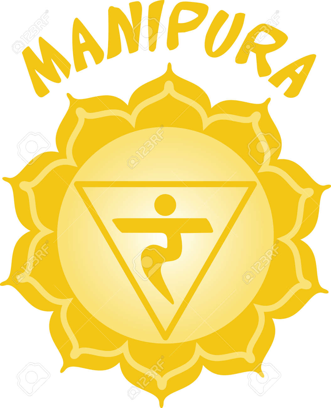 Chakra Triangle For Hindu Religious Sayings And Symbols Royalty