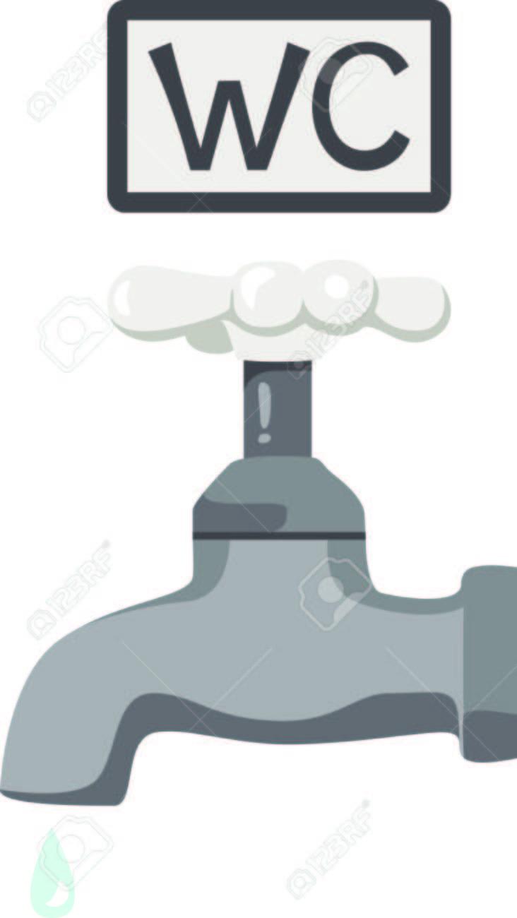 Diese Einfache Wasserhahn Mit Einem Einzigen Wassernase Ist Eine ...