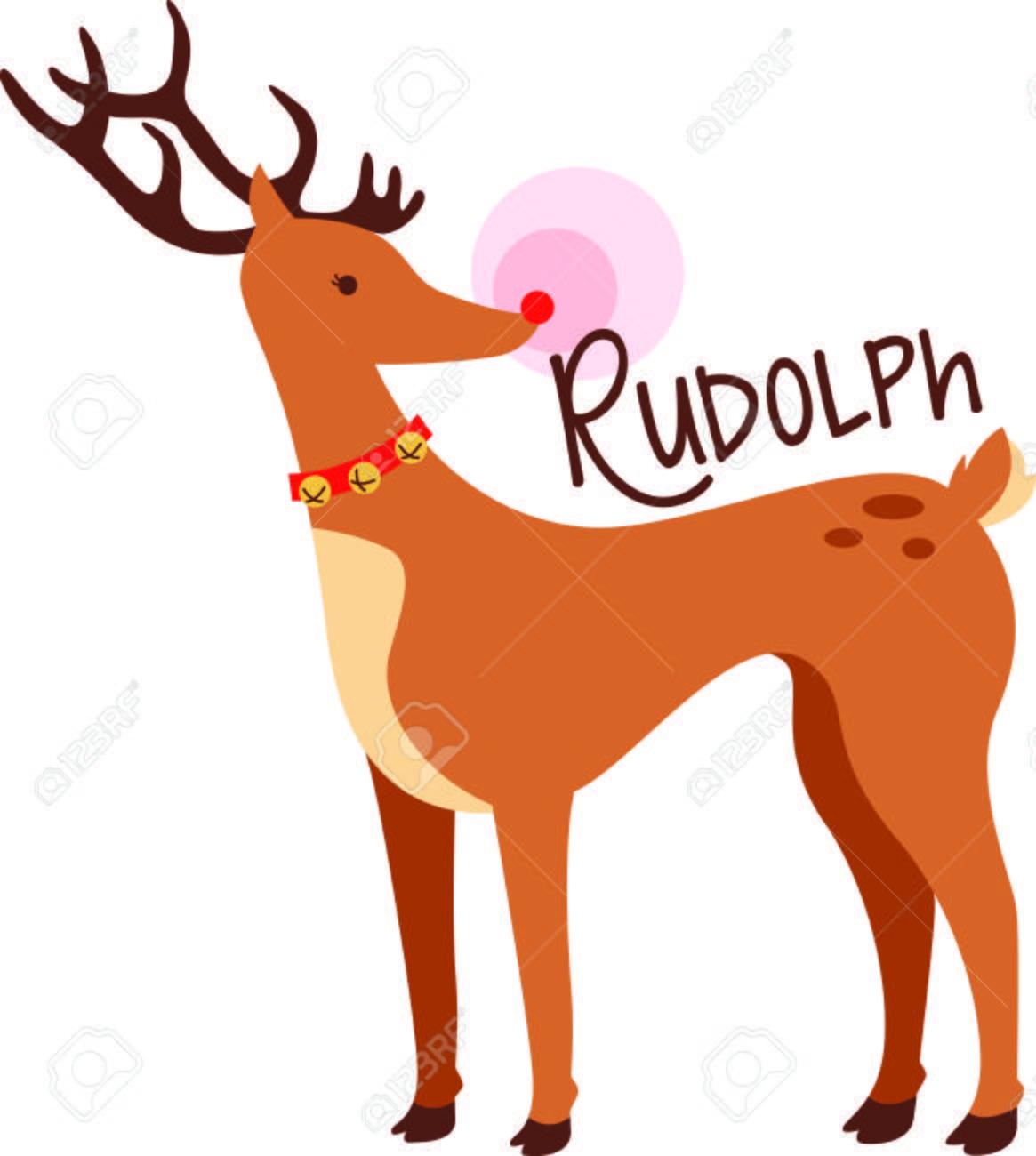 Rudolph Das Rote Nasen-Ren Für Dieses Spezielle Kind An Weihnachten ...