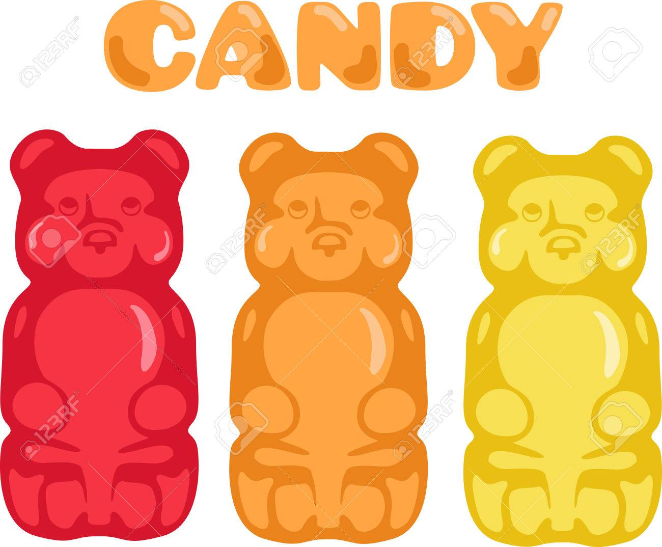 Gummy Bears Stock Illustrations, Cliparts And Royalty Free Gummy ...