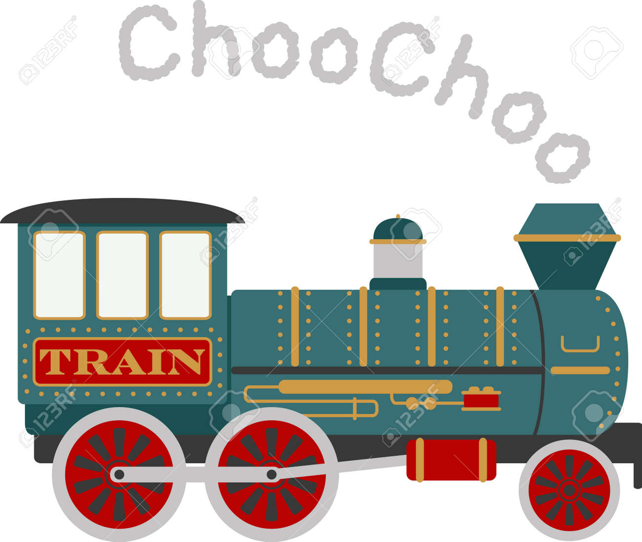 Boys Of All Ages Will Love A Choo Choo Train. Royalty Free Cliparts ... 69a3f8265973