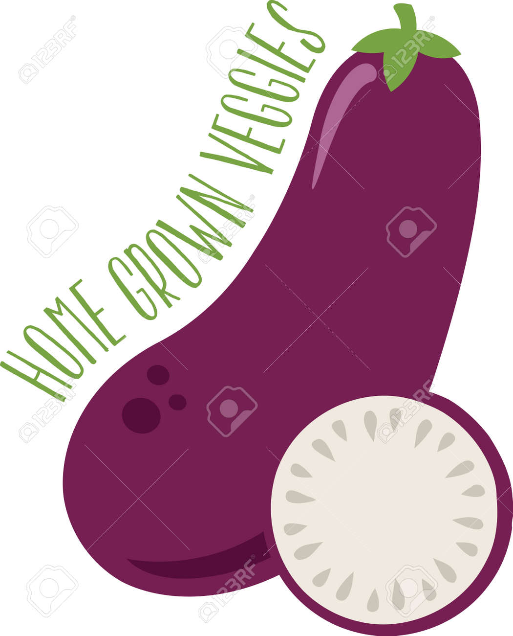 Delightful Eggplants Are An All Time Favorite When It Comes To Kitchen Decor. This  Design Will